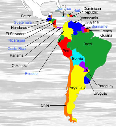 South America Water Resources Assessments of Latin America and the Caribbean