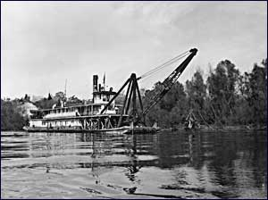 U.S. Snagboat Montgomery on the Apalachicola River